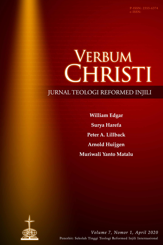 View Vol. 7 No. 1 (2020): Verbum Christi